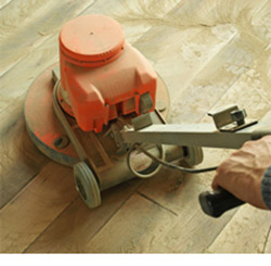 Hardwood Refinishing at Abbey Van Dam Carpet and More in Marrysville